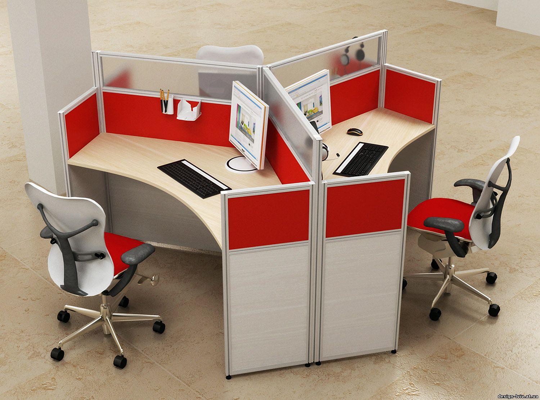Композиция из 3-х столов - бизнес мебель.